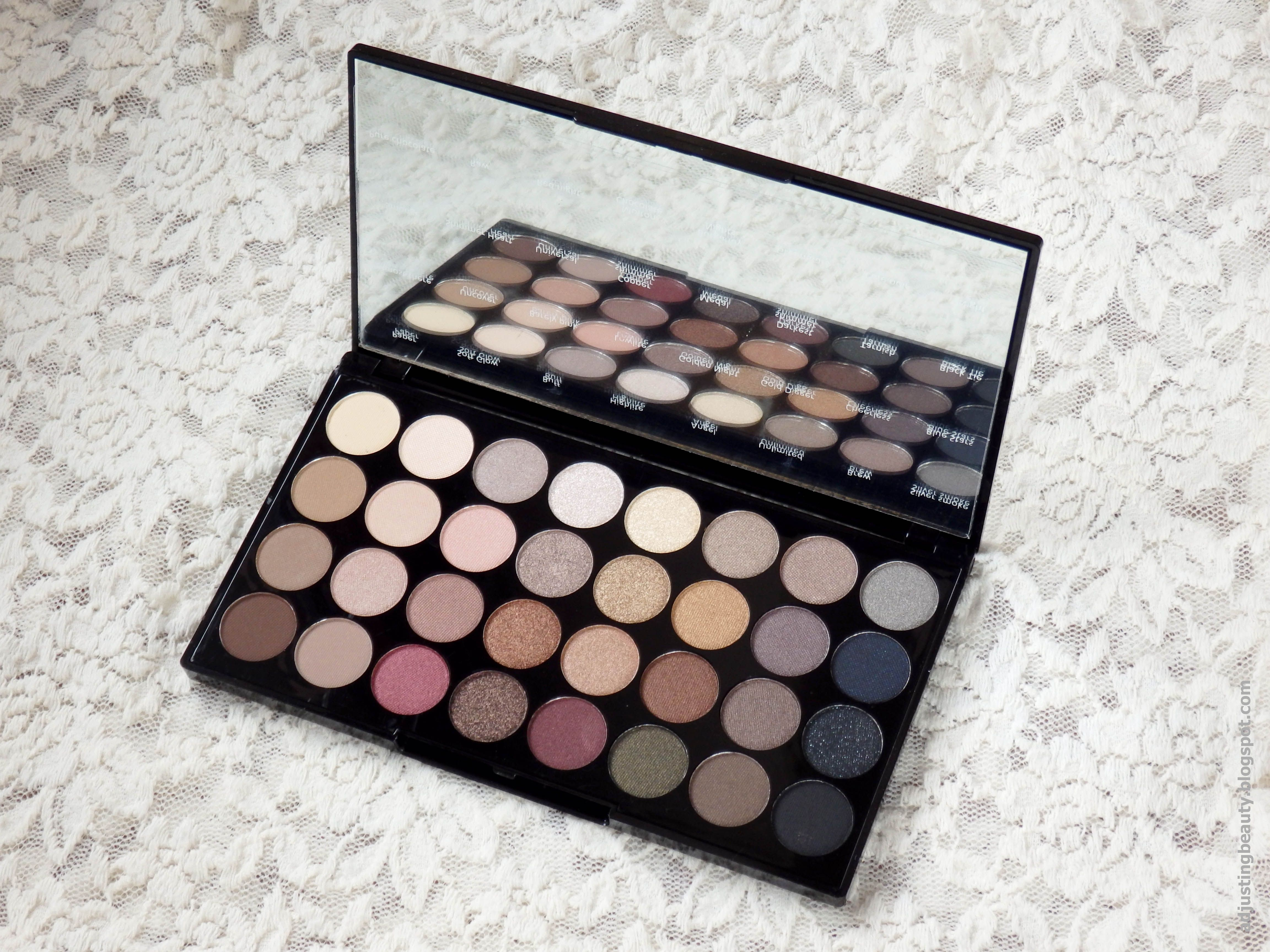 Review of Makeup Revolution Ultra Professional Eyeshadow in Flawless