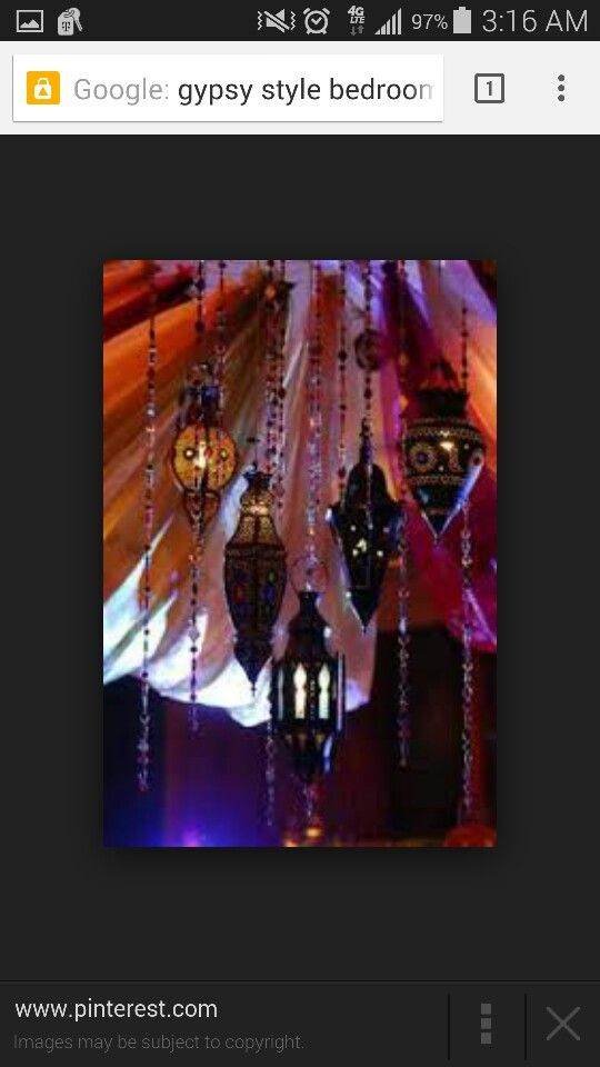More gypsy lighting