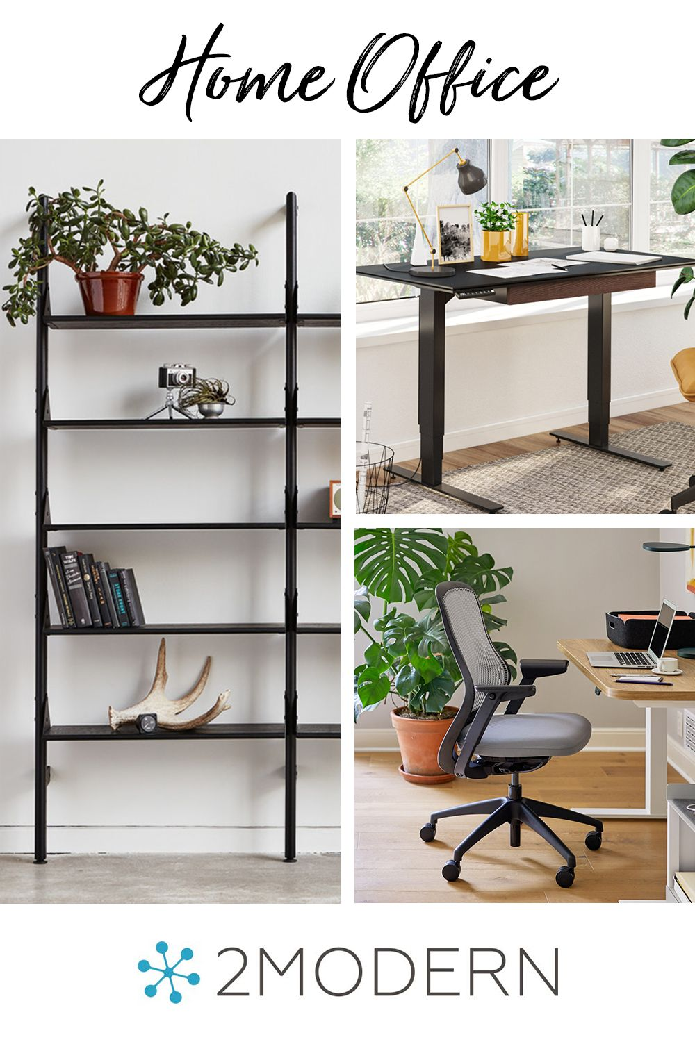 Home Office Refresh In 2020 Office Furniture Modern Modern Home Offices Modern Office Design