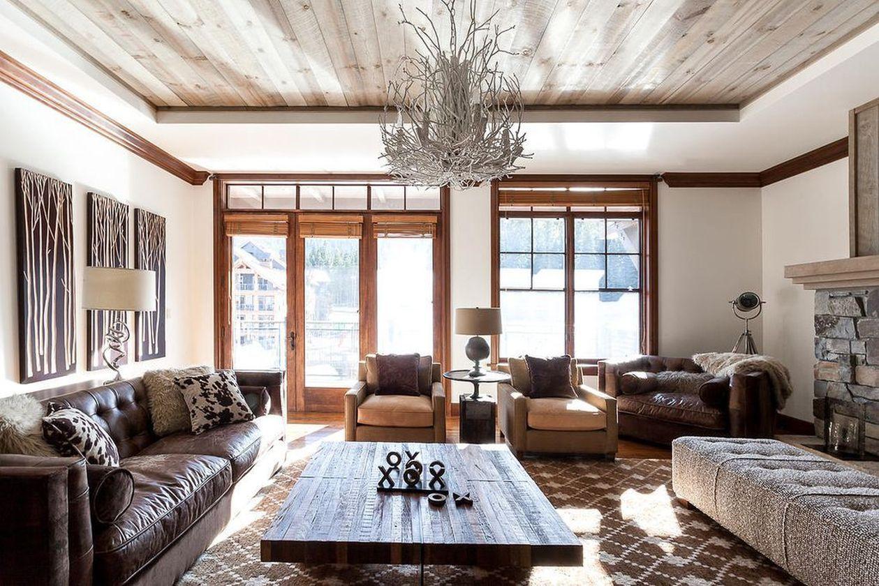 25 Rustic Farmhouse Interior Designs In Your Home Ide Dekorasi Kamar Dekorasi Kamar Ide Dekorasi Living room rustic decor