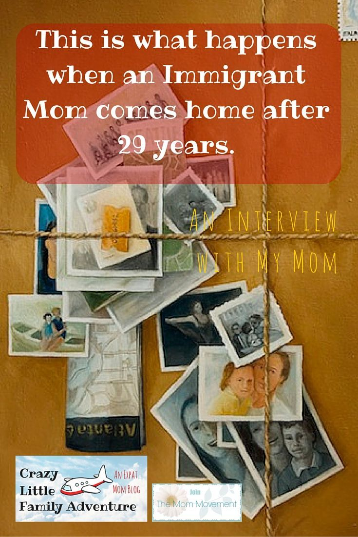 Crazy Little Family Adventure : This is what happens when an Immigrant Mom comes home after 29 years.