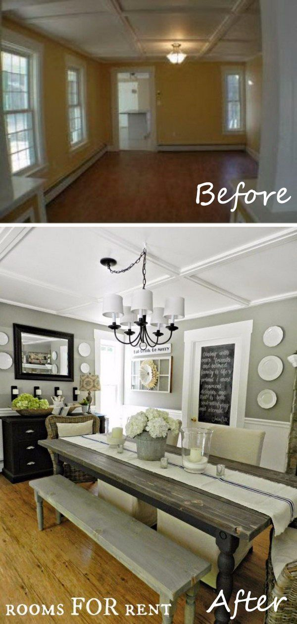 Easy And Budget-Friendly Dining Room Makeover Ideas Room, House