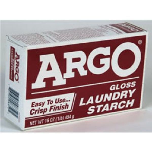 Argo Laundry Starch Laundry Starch Stainless Steel Cleaning