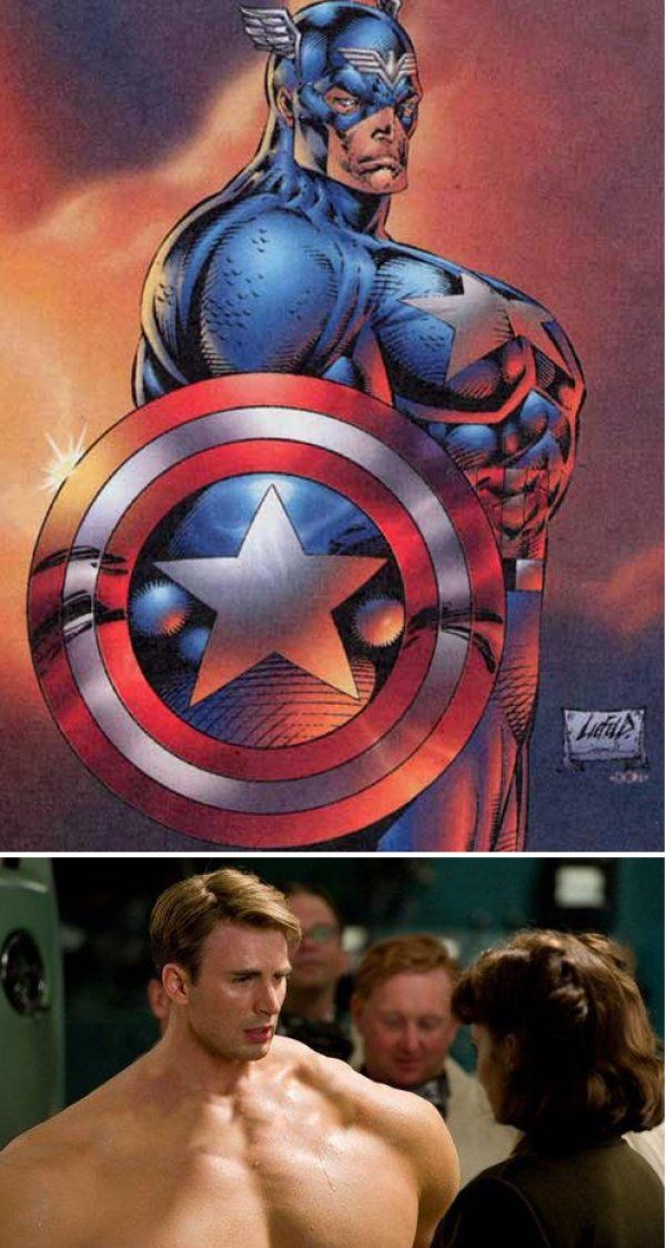 If Chris Evans Looked Like Rob Liefeld S Captain America