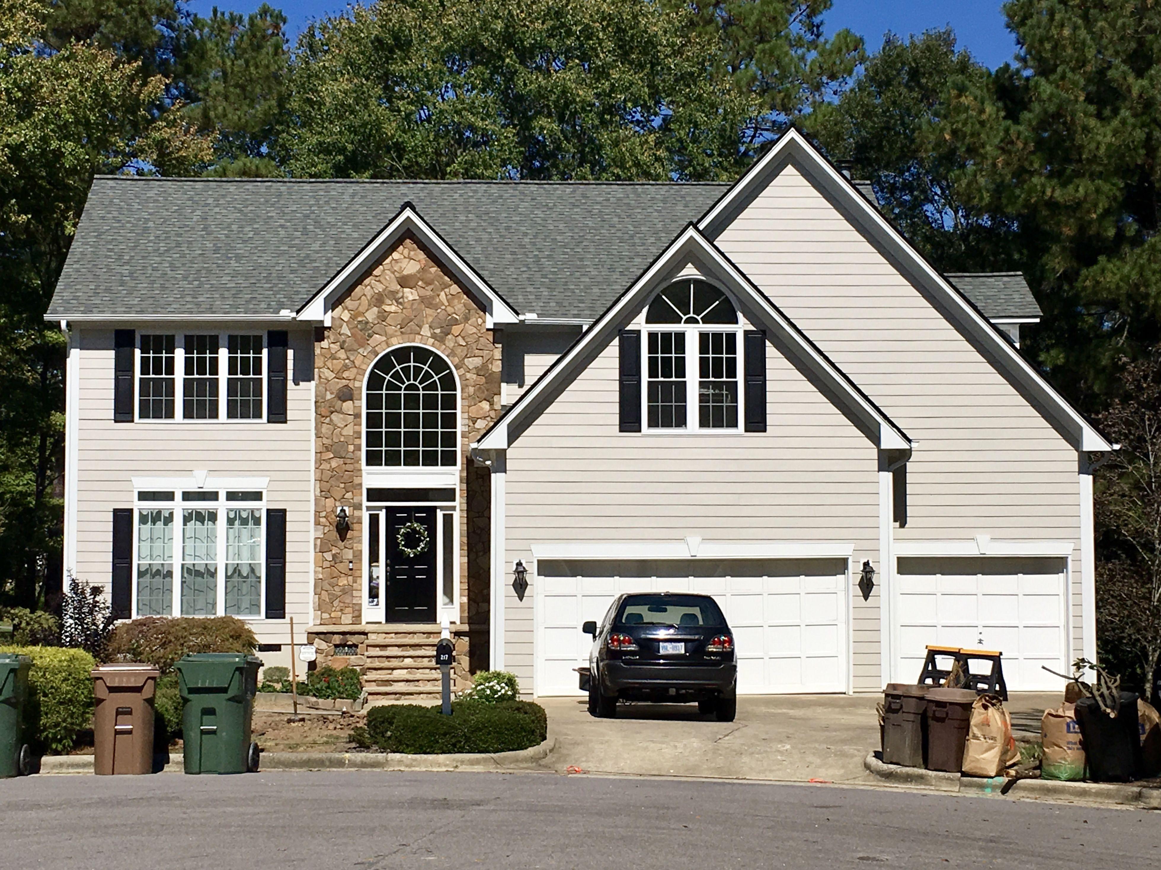 Hardie Colorplus Certainteed Roof Project House Exterior Hardie Plank Certainteed