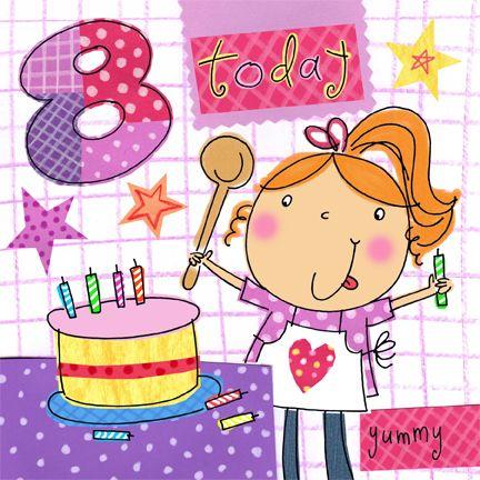 verjaardag meisje 8 jaar Gefeliciteerd Meisje 8 Jaar   ARCHIDEV verjaardag meisje 8 jaar