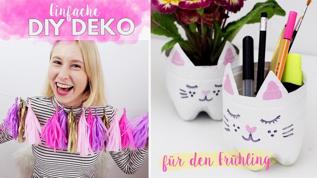Einfache Diy Deko Ideen Fur Den Fruhling Im Pinterest Style Selber