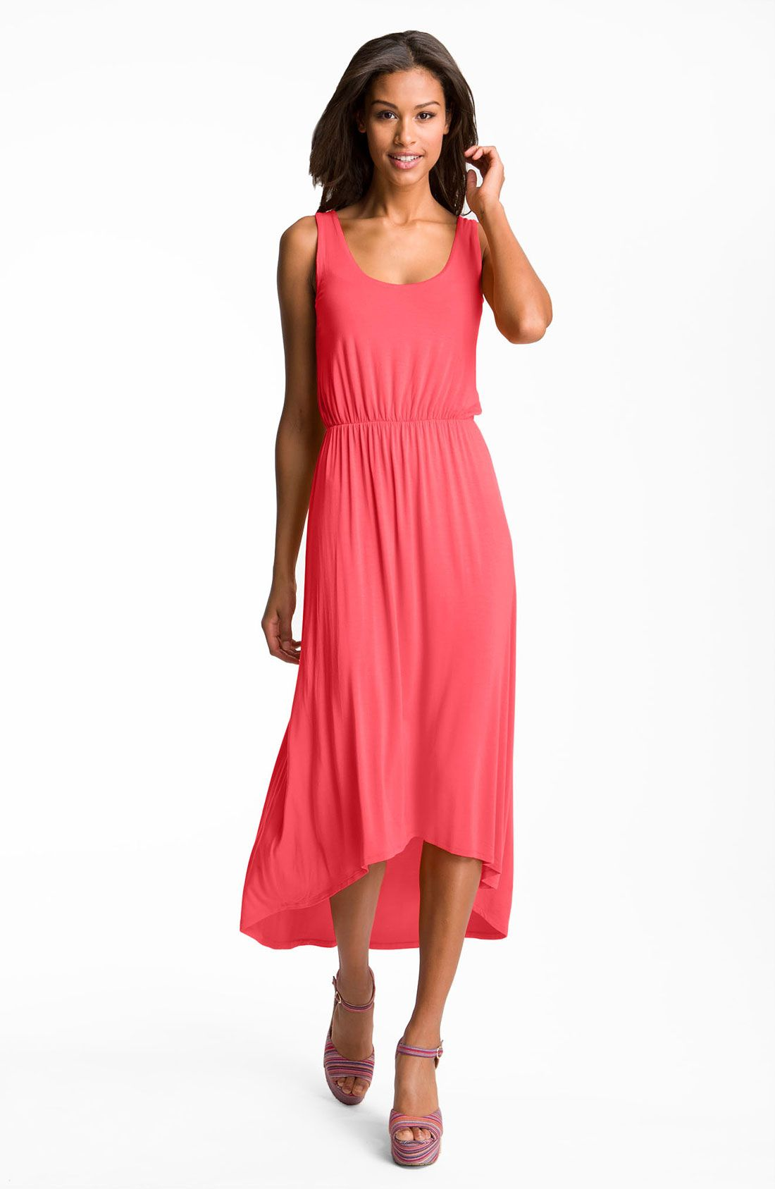 a50efbf1926 FELICITY   COCO High Low Hem Jersey Tank Dress (Nordstrom Exclusive ...