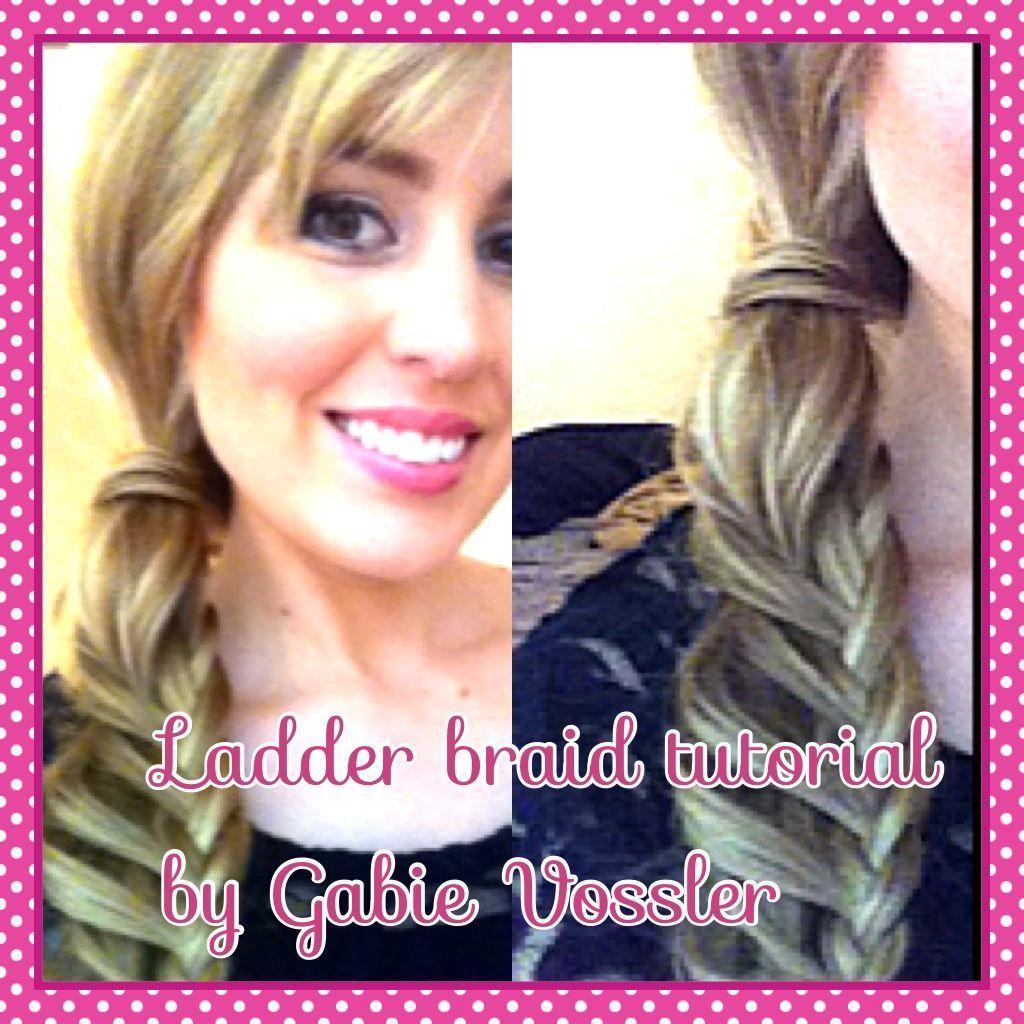 The ladder braid tutorial. # ladder Braids tutorial