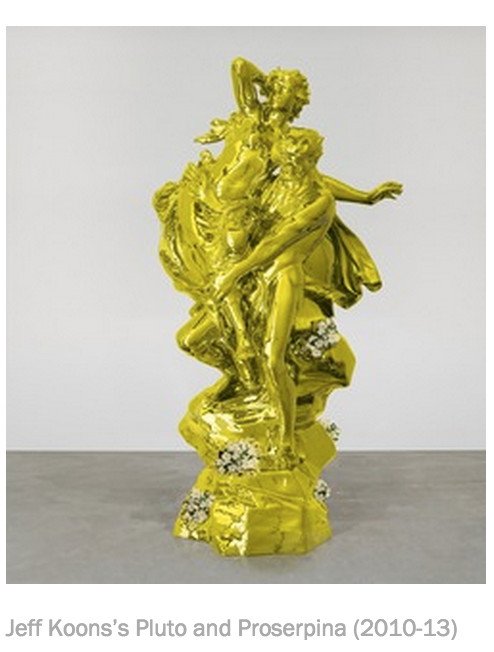 RT @south_artdealer: #Art #JeffKoons goes head-to-head with #Michelangelo http://t.co/ZQoNKtX0Bw #ContemporaryArt #Florence #ArtExhibition http://t.co/E7qiapx7Lr