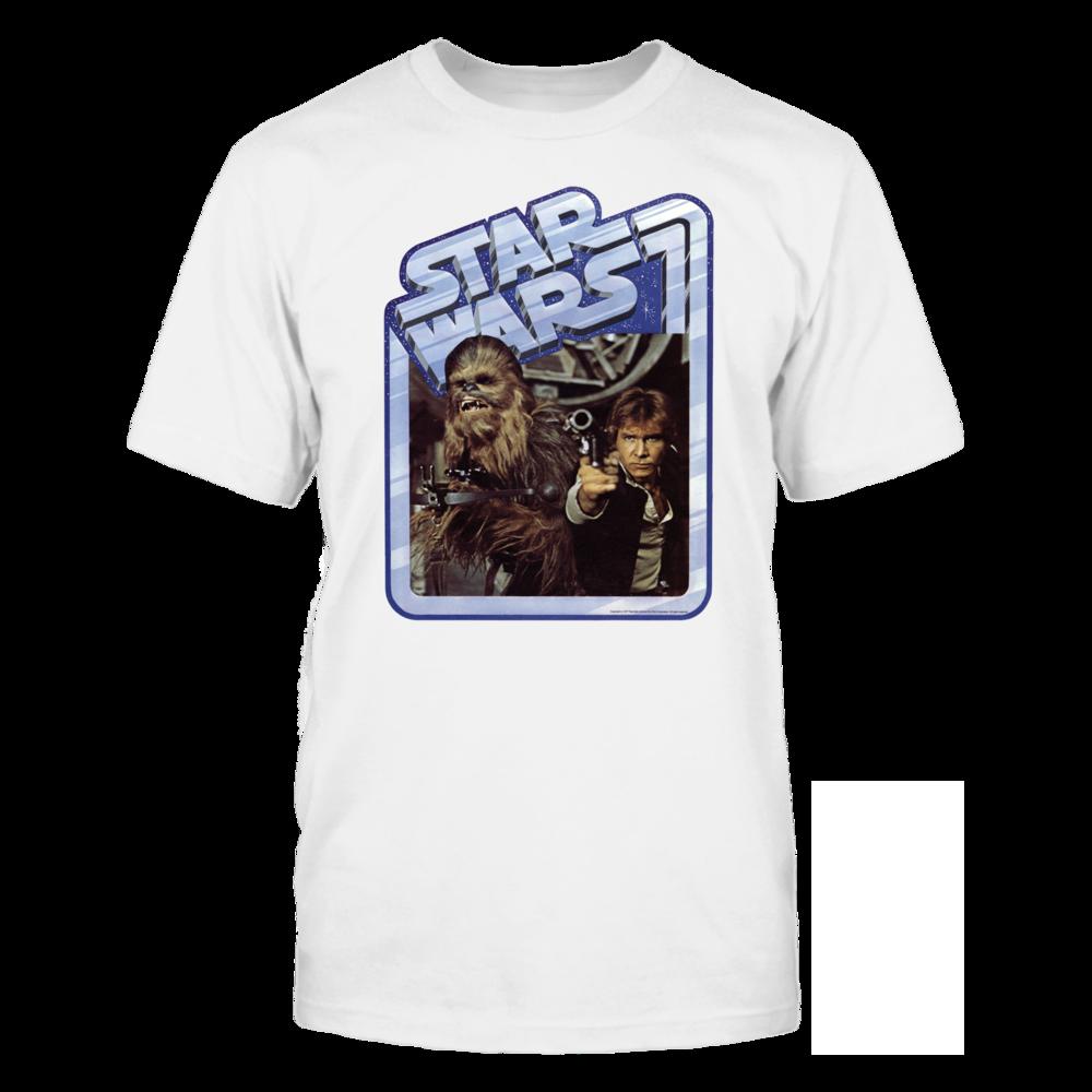Star Wars Old School Han Solo Chewie Vintage T Shirt Front Picture Shirt Shop Star Wars Art Vintage Tshirts