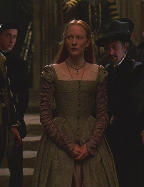 cate blanchett as princess elizabeth in elizabeth 1998