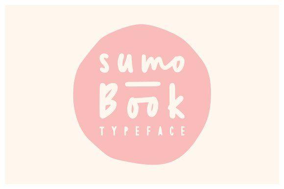 Sumo Book Font by Angga Mahardika on @creativemarket