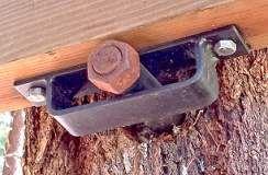 Treehouse mount hardware