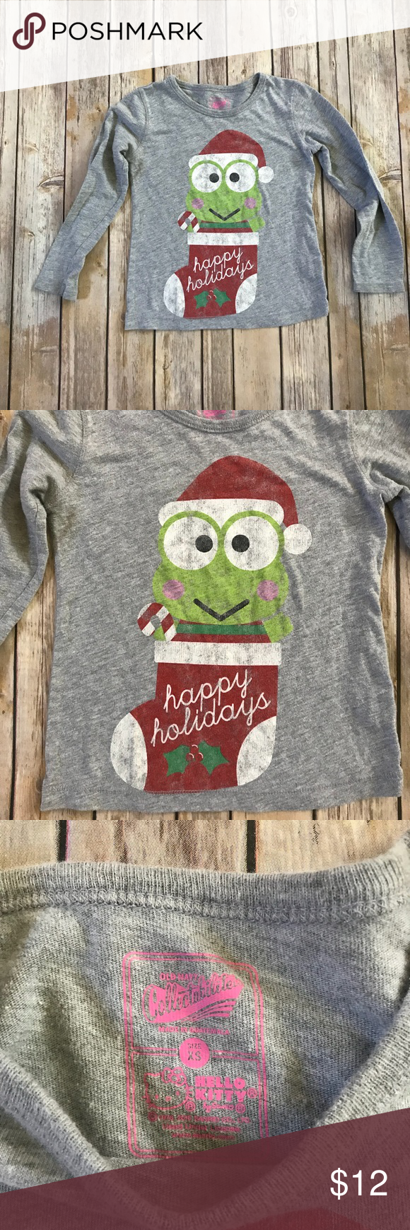 Old Navy Collectibilitees Christmas Frog Shirt in 2018   My Posh ...