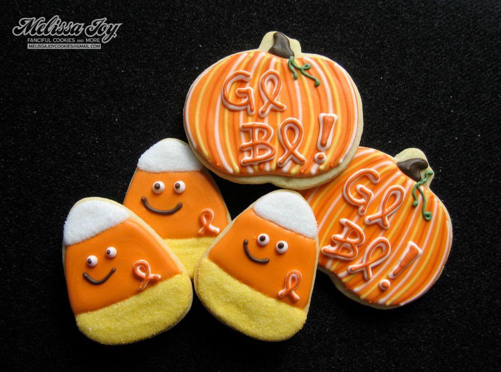 GO BO cookies by Melissa Joy Decorated Cookies Pinterest Apple - halloween pumpkin cookies decorating