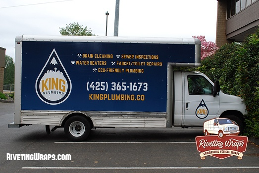Box Truck Graphics For Seattle Plumbing Company Truck Graphics Truck Wraps Graphics Trucks
