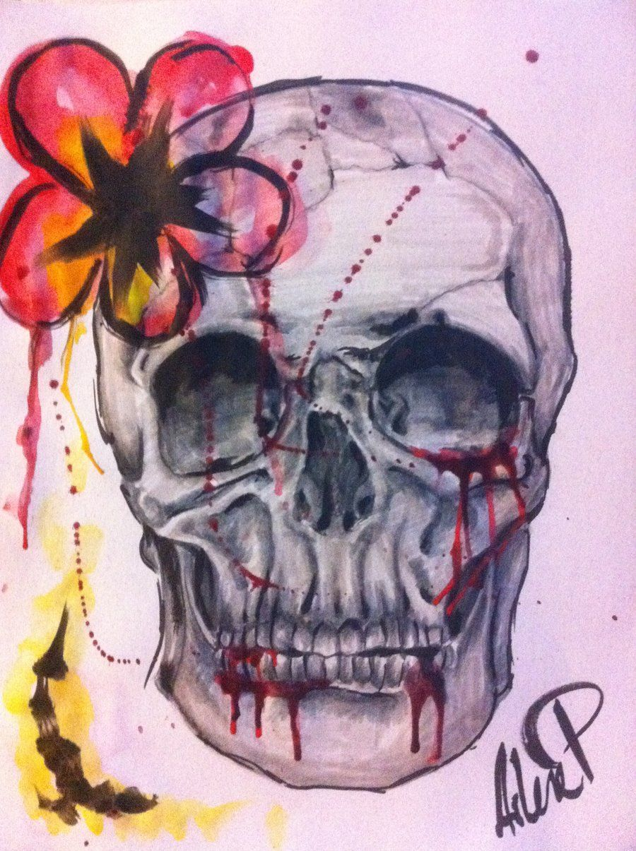 Skull of Whimsy by TheMediumHacker.deviantart.com on @deviantART