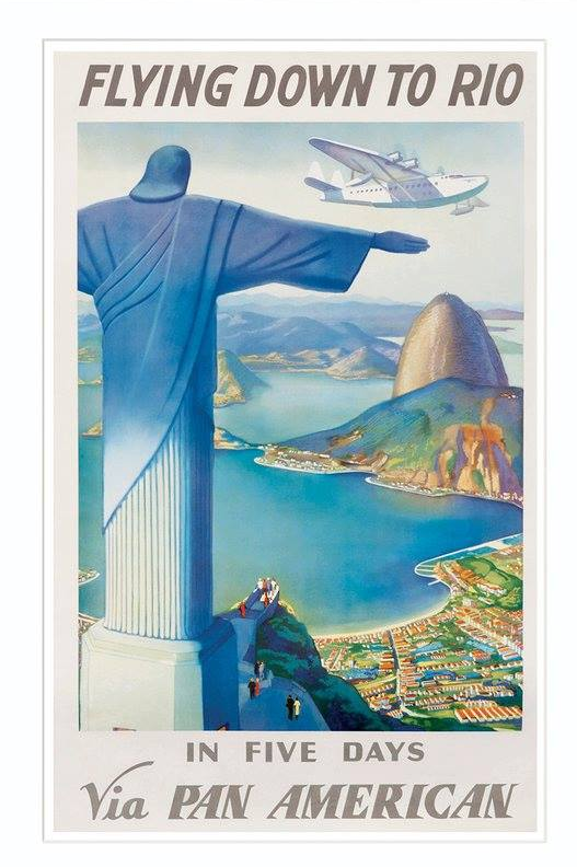 Pin By Claudio Shida On Travel Poster Landscape Vintage Airline Posters Travel Posters Vintage Travel Posters