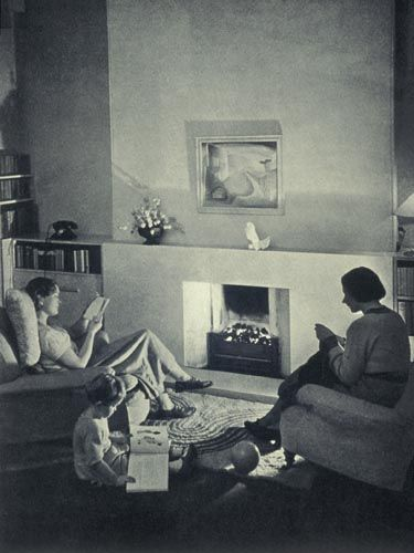 Living Room C 1935 Photograph Home Decor Amp Cooking 30