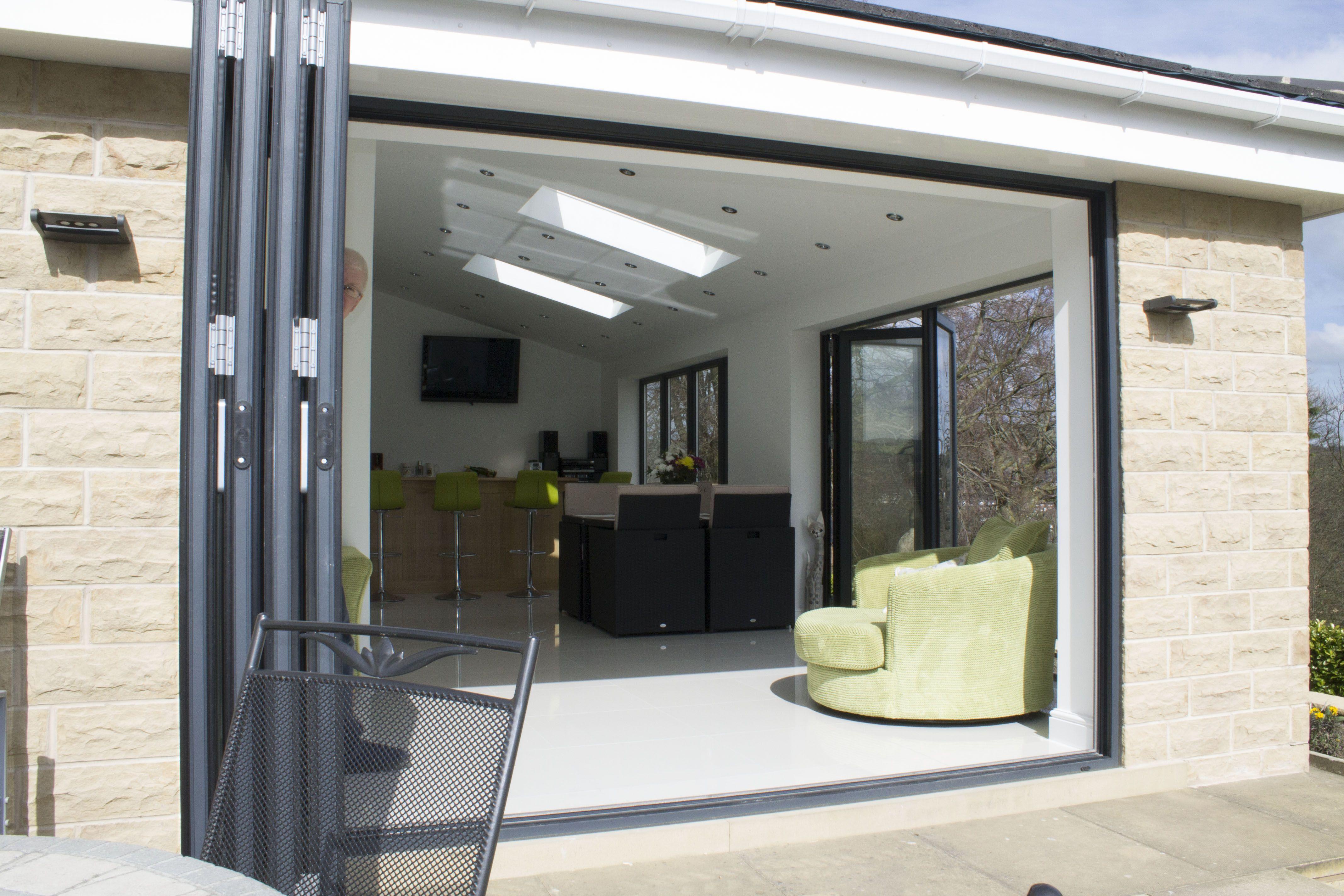 Image result for bifolding door | garage | Pinterest | Bi folding ...