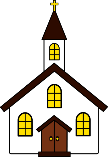 18+ Church building image clipart info