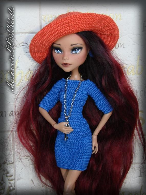 Ooak Repainted Doll Monster High With Natural Hair Best Home