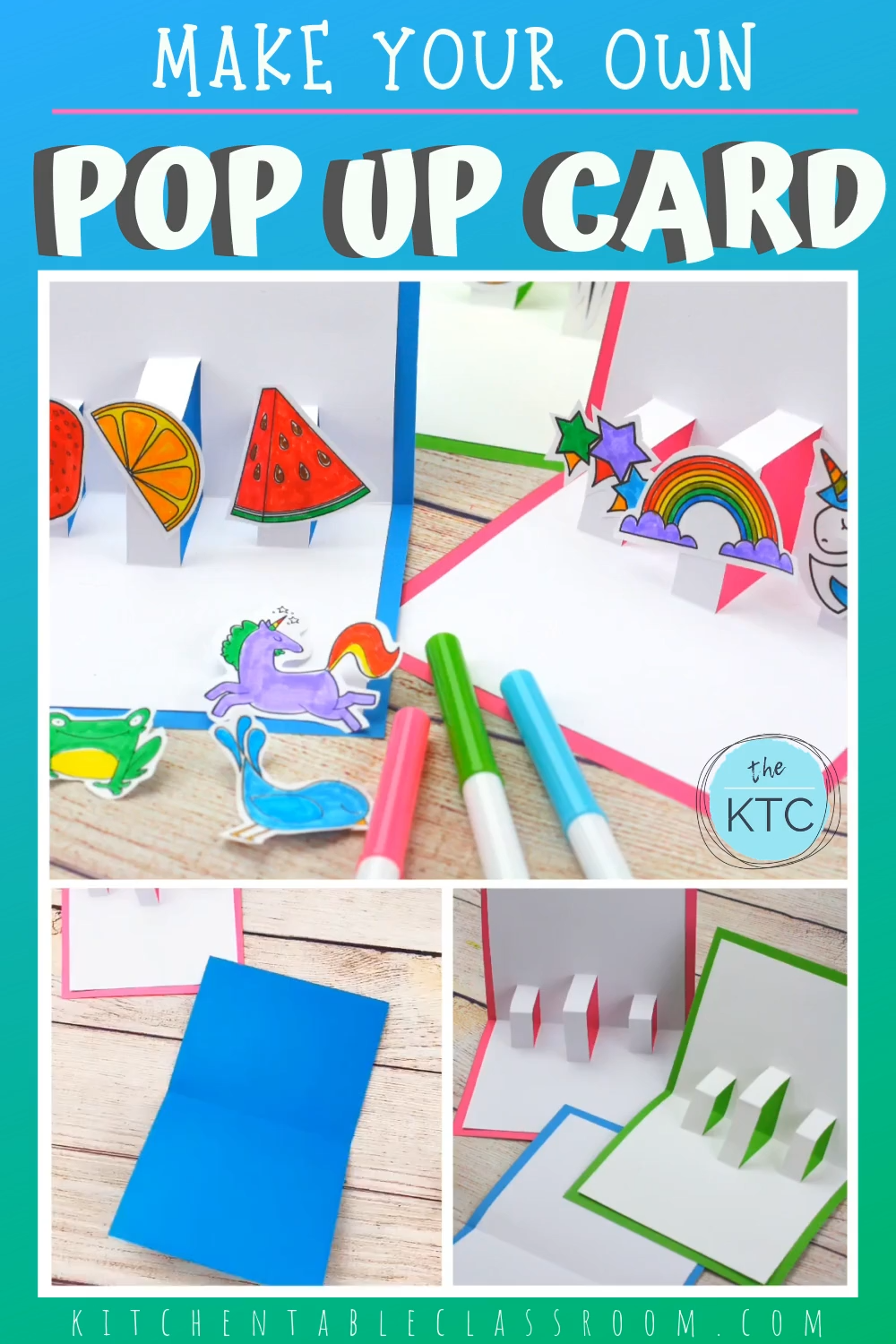 Photo of Make Your Own Pop Up Card- Free Template
