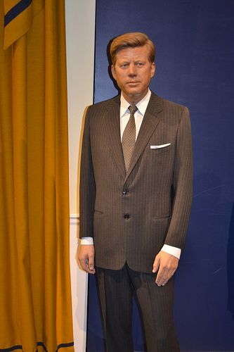 33ff4a2475b President Kennedy. Tussauds London