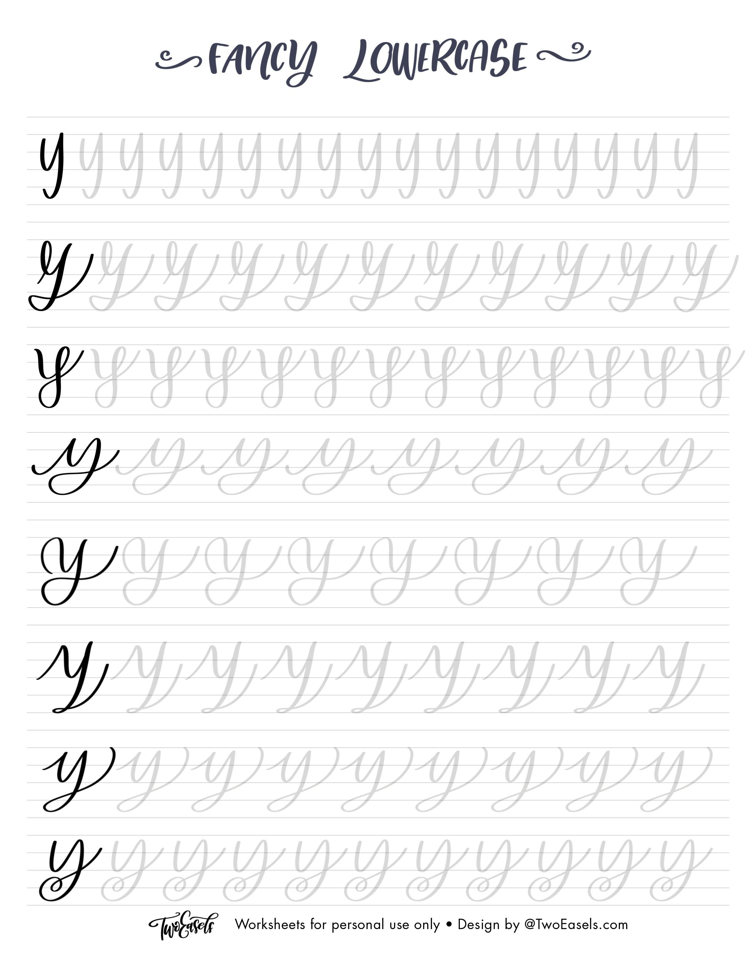 Bundle 8 Styles Of Lower And Uppercase Letters Brush