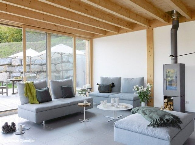 18 Salon chalet design | Maison | Pinterest | Chalet design, Salons ...