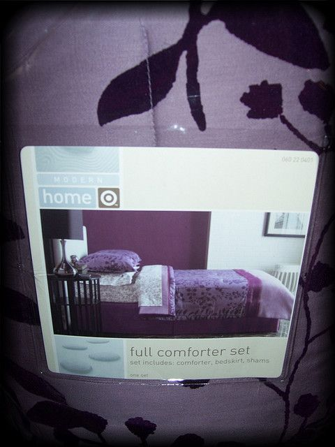Purple Comforter Set, Twilight Bedding Set