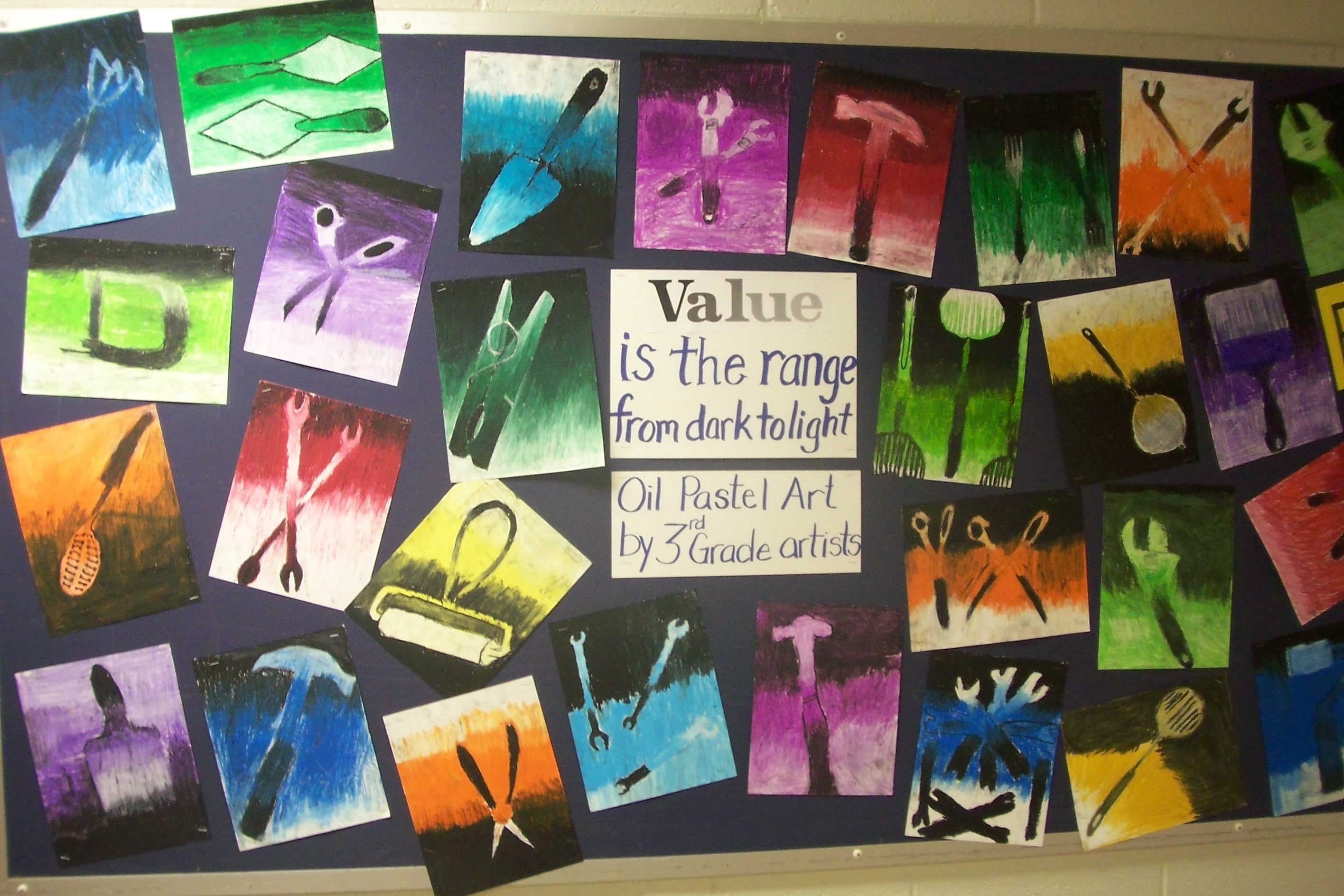 Monochromatic Value Stu S With Tools Can You Believe These Are 3rd Grade