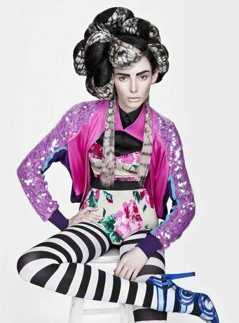 präsentiert von www.my-hair-and-me.de  #amazing #hair #different #stripes #gestreift #viele #farben #many #colors #abstrakt #durcheinander