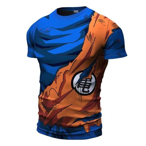 Goku Kame Symbol Armour T Shirt Goku Anime And Dragon Ball
