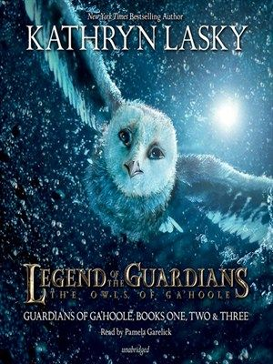 """Legend of the Guardians: The Owls of Gahoole"" by Kathlyn Lasky - The story's fast pace, menacing bad guys, and flashes of humor make this a good choice for reluctant readers, while the underlying message about the power of legends provides a unifying element and gives strong appeal for fantasy fans."