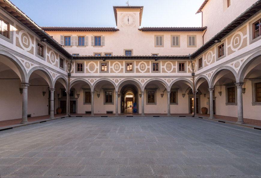 Filippo Brunelleschi Museo Degli Innocenti Museum Florence