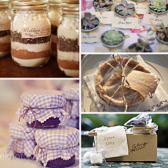 Great Inexpensive Wedding Gifts: Some Good Wedding Favor Ideas... Mini Pies!