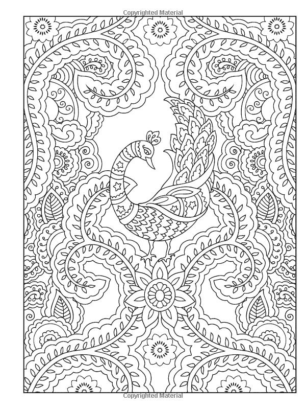 Creative Haven Mehndi Designs Coloring Book Ausmalbilder Ausmalen Mandala Vorlagen