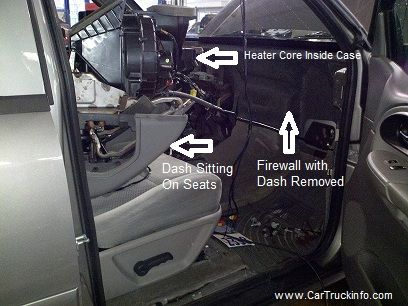 How To Replace The Heater Core On A Chevy Trailblazer Cars