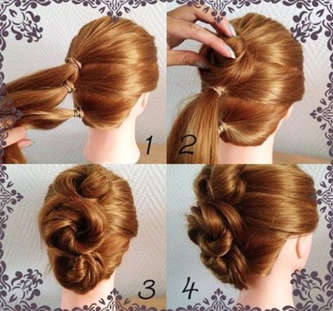How To Do Hairstyles Pinratree Ponsuwanna On Hairstyles  Pinterest  Updos