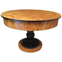 Biedermeier Table: