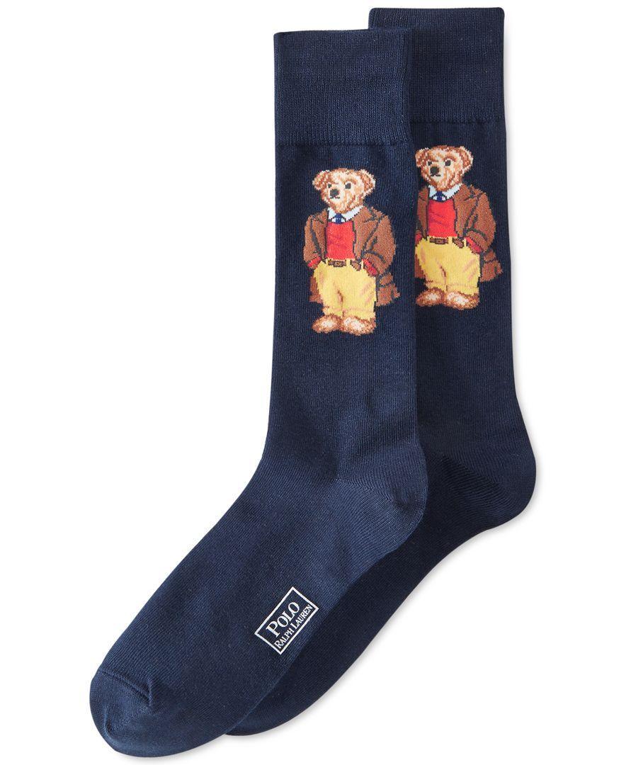 Polo Ralph Lauren Bear Socks Men S Socks In 2019 ポロベア ポロ