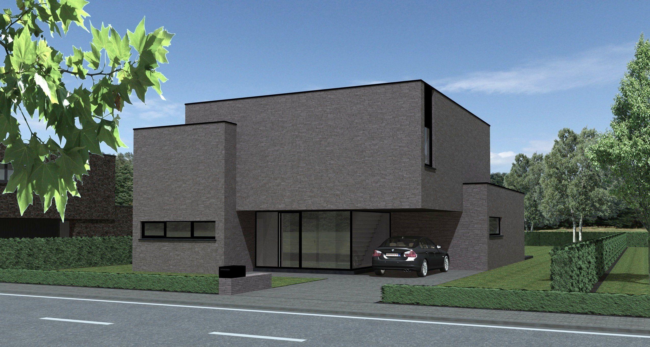 SV architect te genk (Limburg) tijdloze moderne woningen