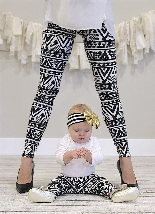 Every child would LOVE to match their mommy! Now you can even match your  baby! These darling leggings are super soft and stretchy which allows them  to fit ... fe65378d0b