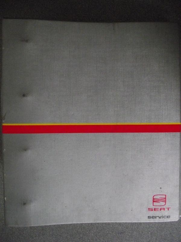 Seat Toledo Leon Wiring Diagram Manual 1999 Djb24807990000