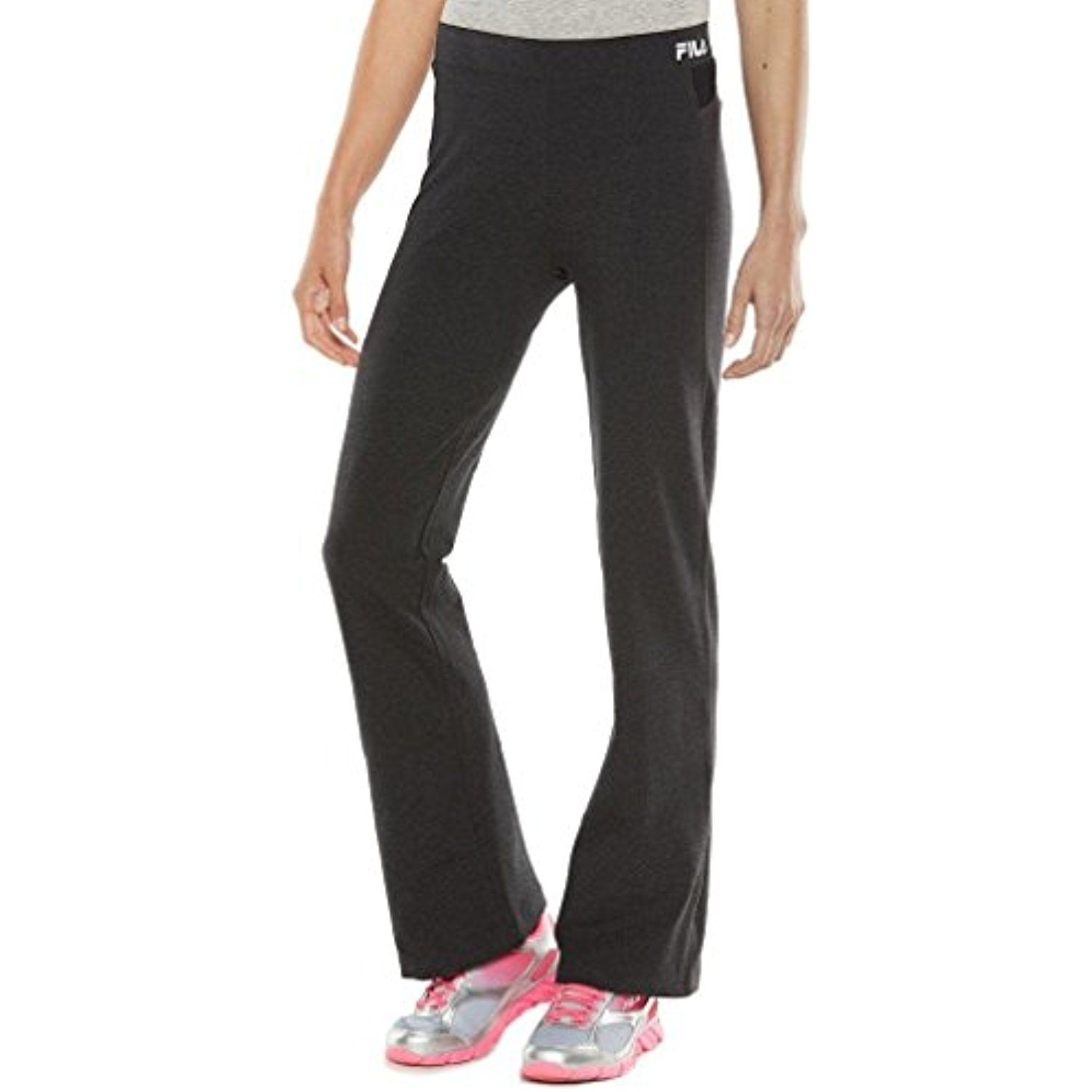 0d59e53547674 FILA SPORT Women's Core Essentials Focus Fitness Yoga Pants Bootcut -- Read  more at the image link. (This is an affiliate link and I receive a  commission ...