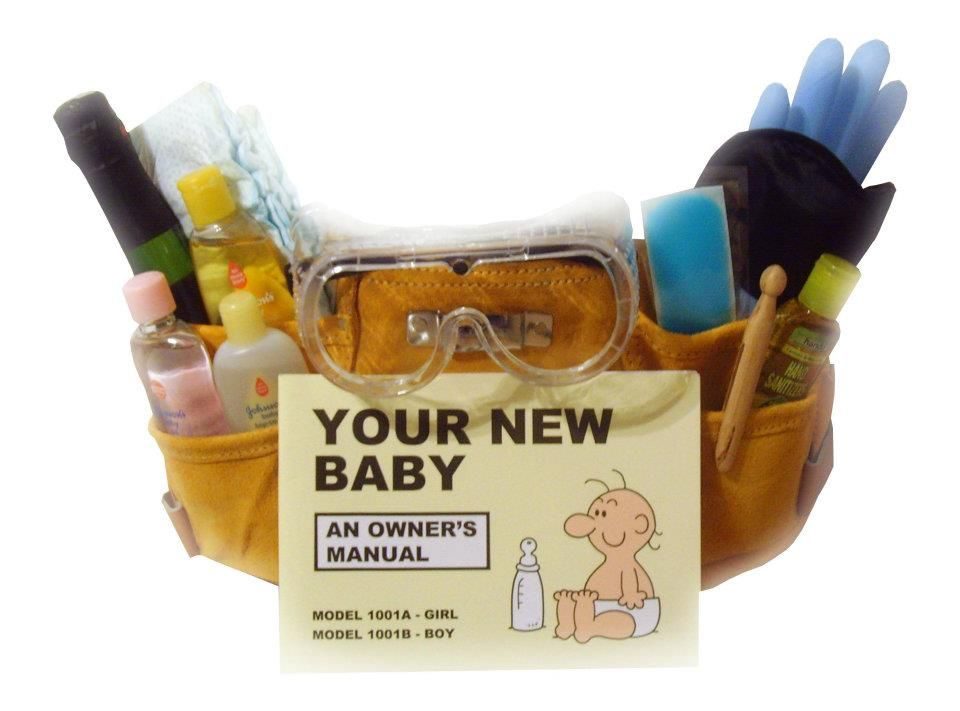 Brandon got one of this for Keiden! Perfect gift for the new dad ...