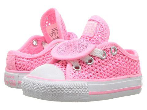 f2da5e0b6159 Converse Kids Chuck Taylor All Star Double Tongue Ox (Infant Toddler ...