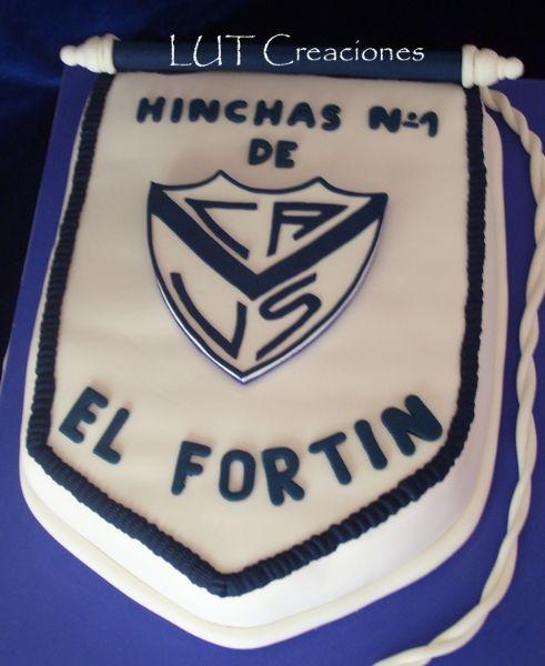 Torta Decorada El Fortin Tortas De Cumpleaños Equipos De